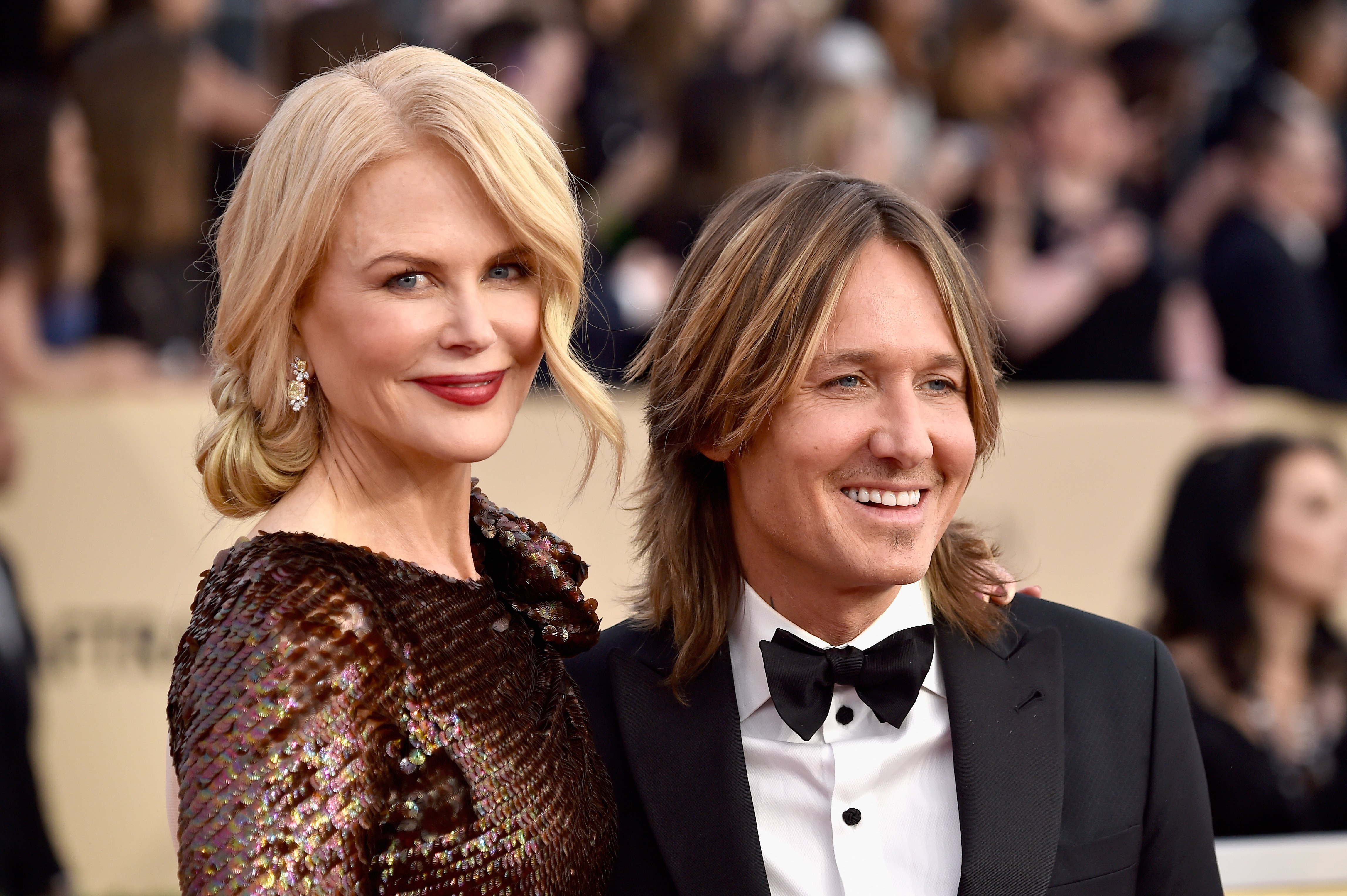 Nicole Kidman and Keith Urban attend the 24th Annual Screen ActorsGuild Awards at The Shrine Auditorium on January 21, 2018 in Los Angeles, California | Photo: Getty Images