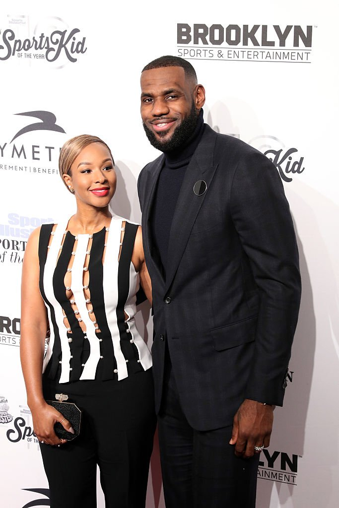 Savannah Brinson and event honoree LeBron James attend the 2016 Sports Illustrated Sportsperson of the Year event at Barclays Center of Brooklyn  | Getty Images / Global Images Ukraine