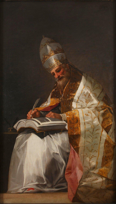 San Gregorio fue el sexagésimo cuarto papa y uno de los padres de la iglesia latina.| Fuente: Wikipedia