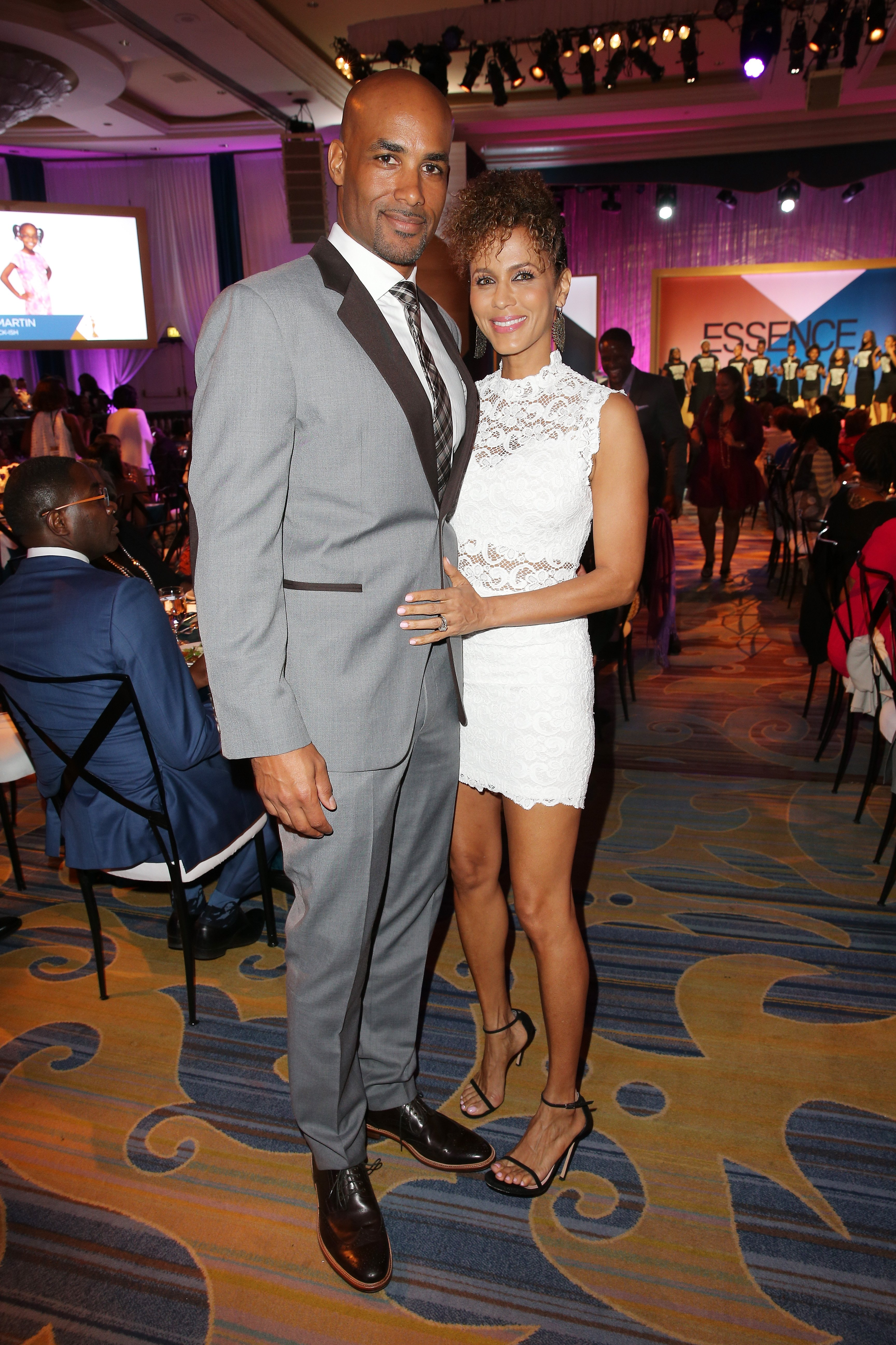 Boris Kodjoe and Nicole Ari Parker attend the 2016 ESSENCE Black Women In Hollywood awards luncheon on February 25, 2016 in Beverly Hills, California. | Source: Getty Images
