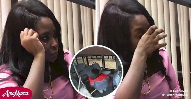 Une mère pleure en regardant la vidéo de son fils de 5 ans qui se réveille seul dans un bus scolaire verrouillé