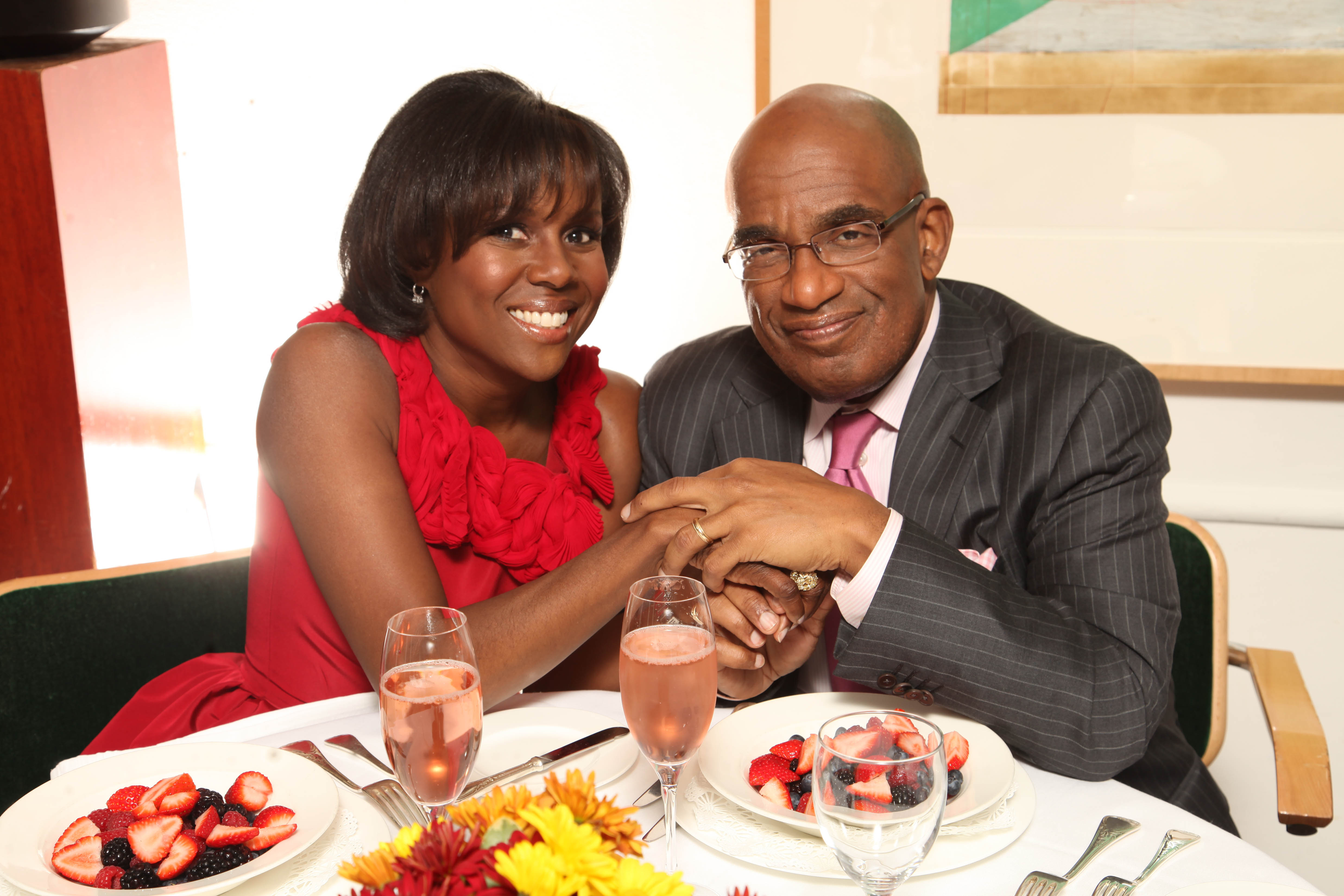 Deborah Roberts and her husband Al Roker in New York, 2010 | Source: Getty Images