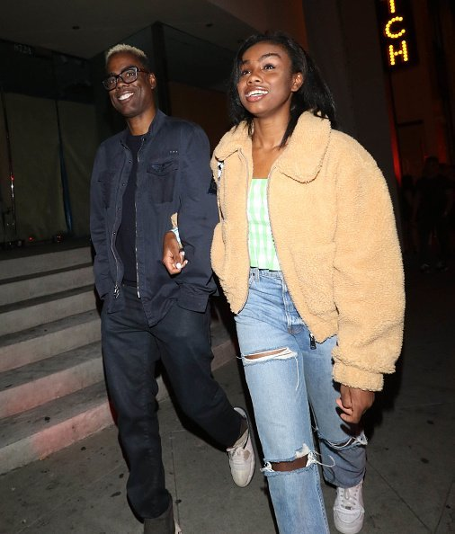 Chris Rock seen with his 16-year-old daughter Lola| Photo: Getty Images