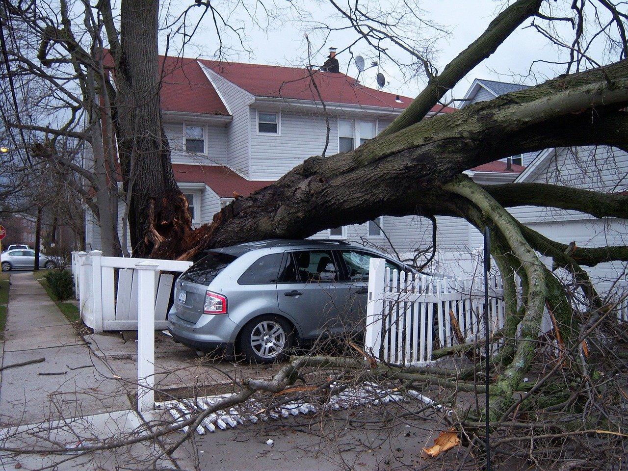 Dommages lors d'un passage de tornade | Source : Pixabay