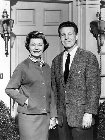 Ozzie and Harriet Nelson in 1964. | Wikimedia Commons.
