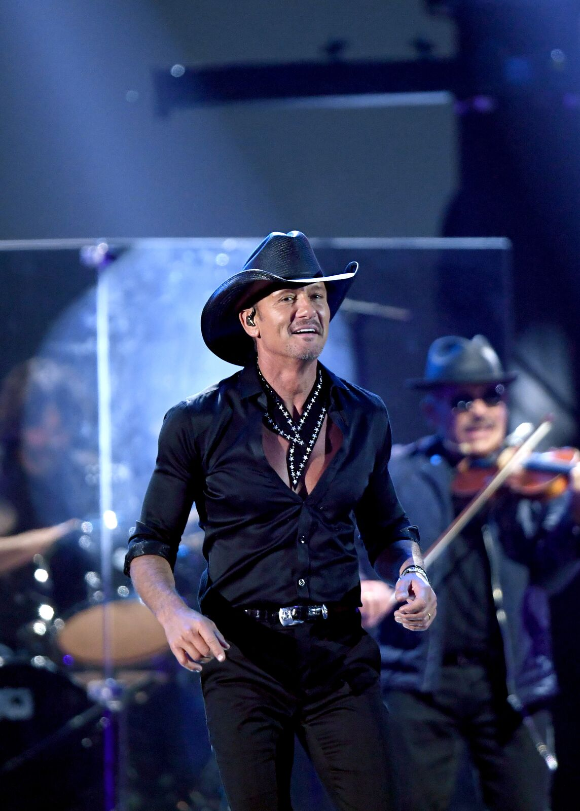 Tim McGraw onstage during the iHeartRadio Music Festival at T-Mobile Arena on September 20, 2019. | Photo: Getty Images
