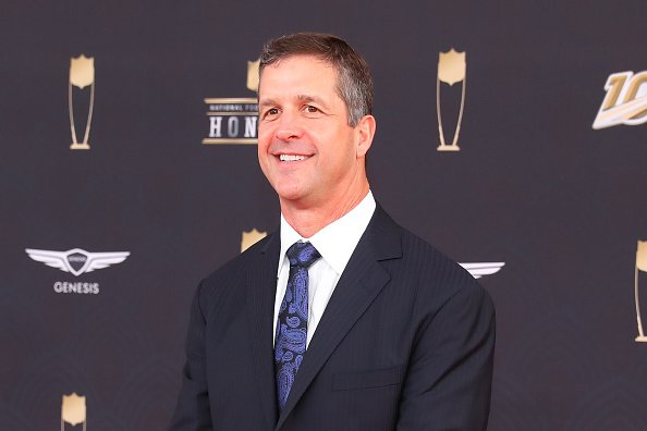 John Harbaugh on February 1, 2020 at the Adrienne Arsht Center in Miami, FL.   Photo: Getty Images