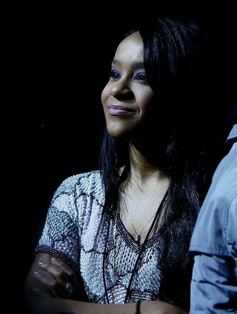 Bobbi Kristina at a Whitney Houston concert in 2010 in Milan, Italy | Source: Getty Images