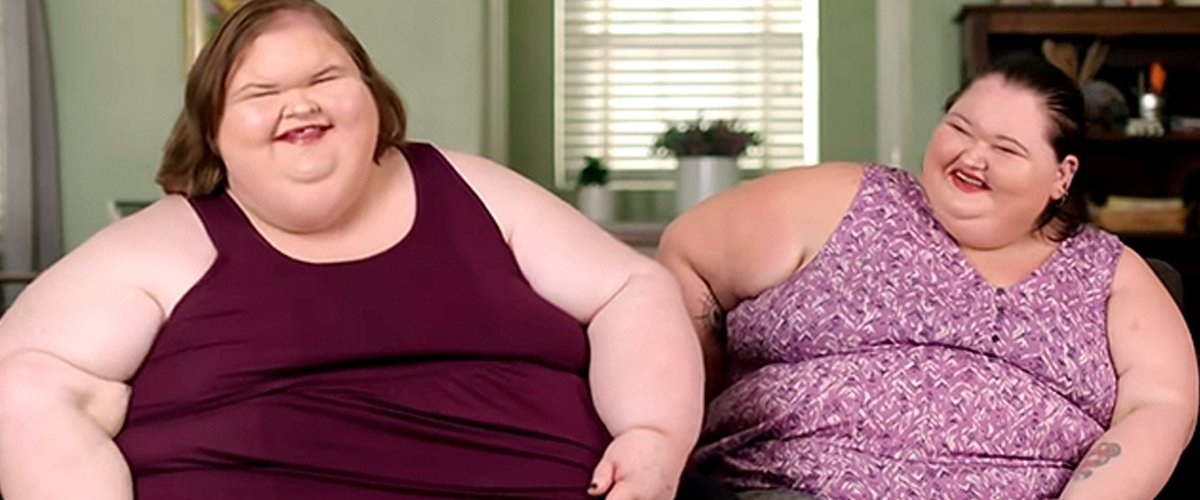 """Tammy and Amy during an episode of the show """"1000-lbs Sisters"""" 