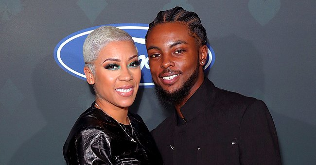 Keyshia Cole Celebrated Baby Daddy Niko Khale's First Father's Day with a Special Cake