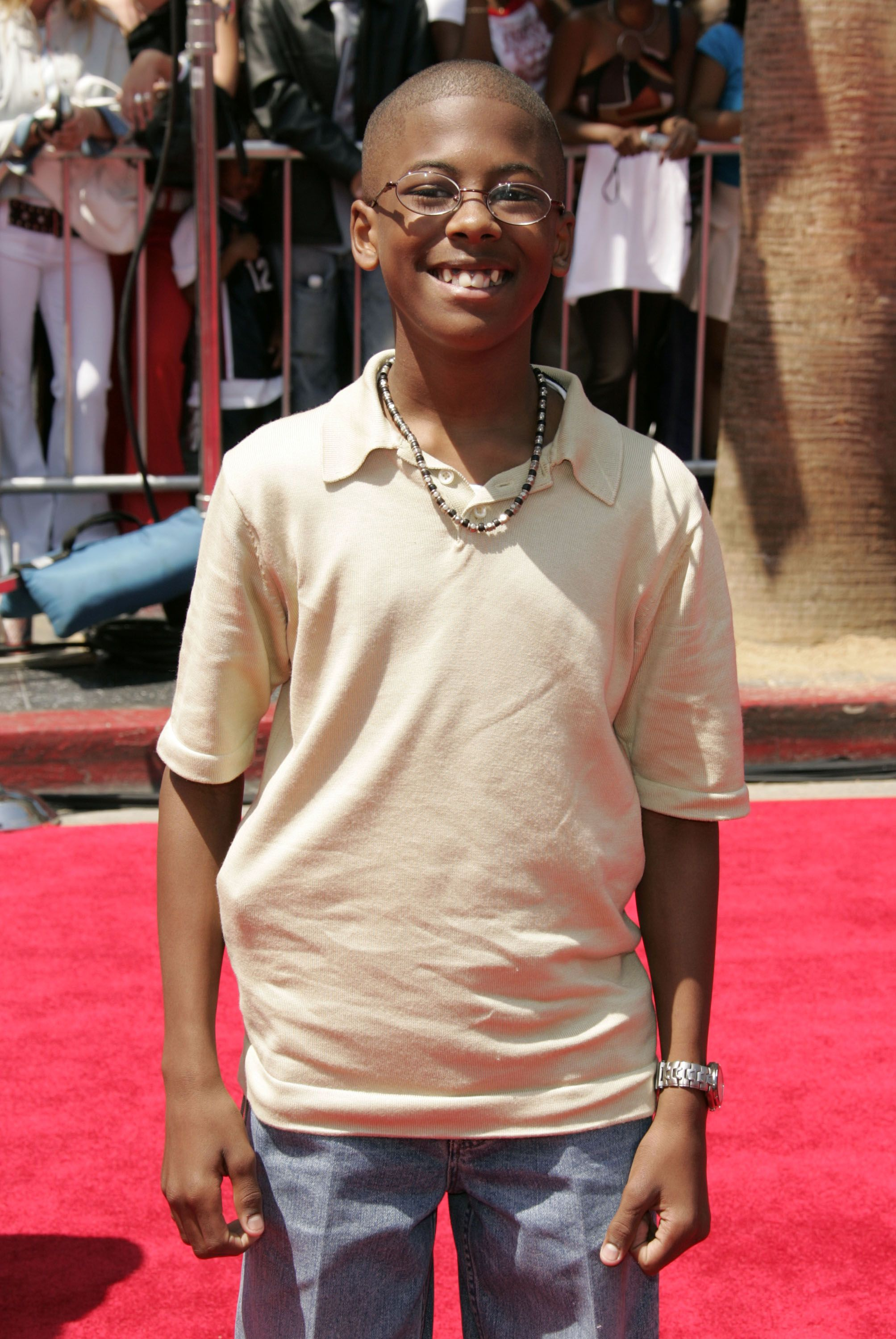 Jeremy Suarez at the 4th Annual BET Awards - Arrivals at Kodak Theatre in Hollywood on June 29, 2004 | Photo: Getty Images