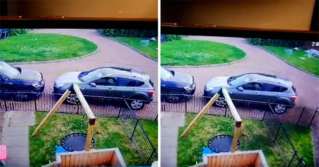 Woman Calls Priest to Bless Her Home after Checking CCTV Camera Footage