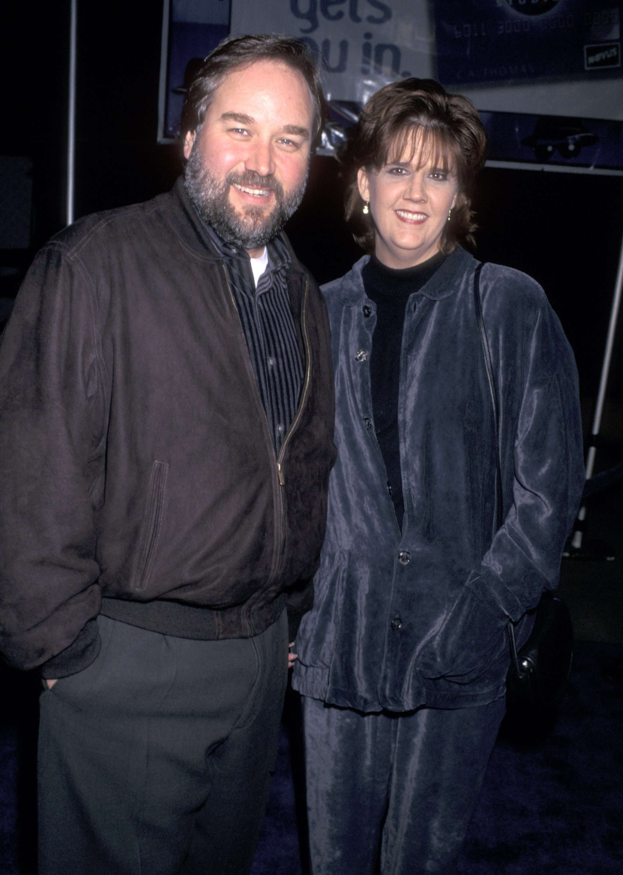 Richard Karn and wife Tudi Roche attend the 'Blues Brothers 2000' Universal City Premiere on January 31, 1998 at Universal Amphitheatre | Photo: Getty Images