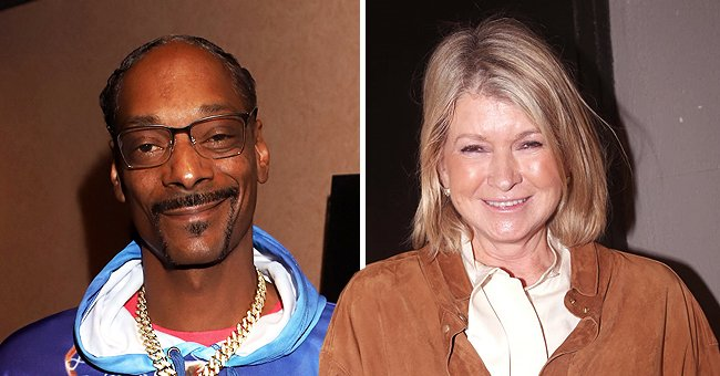 """Snoop Dogg atthe Los Angeles Influencer Special Screening of Sony Pictures' """"Black and Blue,"""" on October 17, 2019, in Hollywood, California, and Martha Stewart atthe opening night of """"Tina - The Tina Turner Musical""""on November 7, 2019, in New York City 