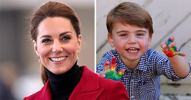 Duchess Kate Shares Funny Behind-The-Scenes Details about Prince Louis' Colorful B-Day Pics