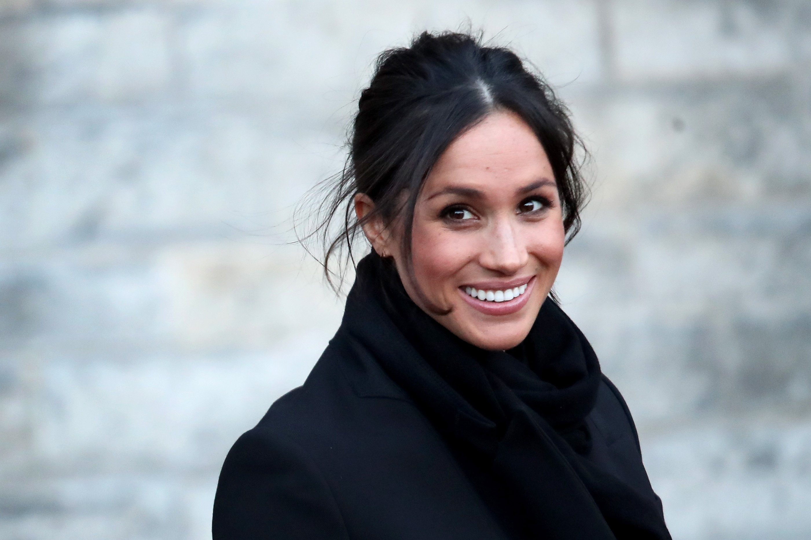 Meghan Markle departs from a walkabout at Cardiff Castle on January 18, 2018 in Cardiff, Wales | Photo: Getty Images