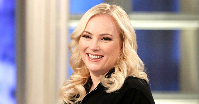 Meghan McCain Opts for Dramatic Red Lipstick as She Prepares for 'The View' — See Her Bold Look