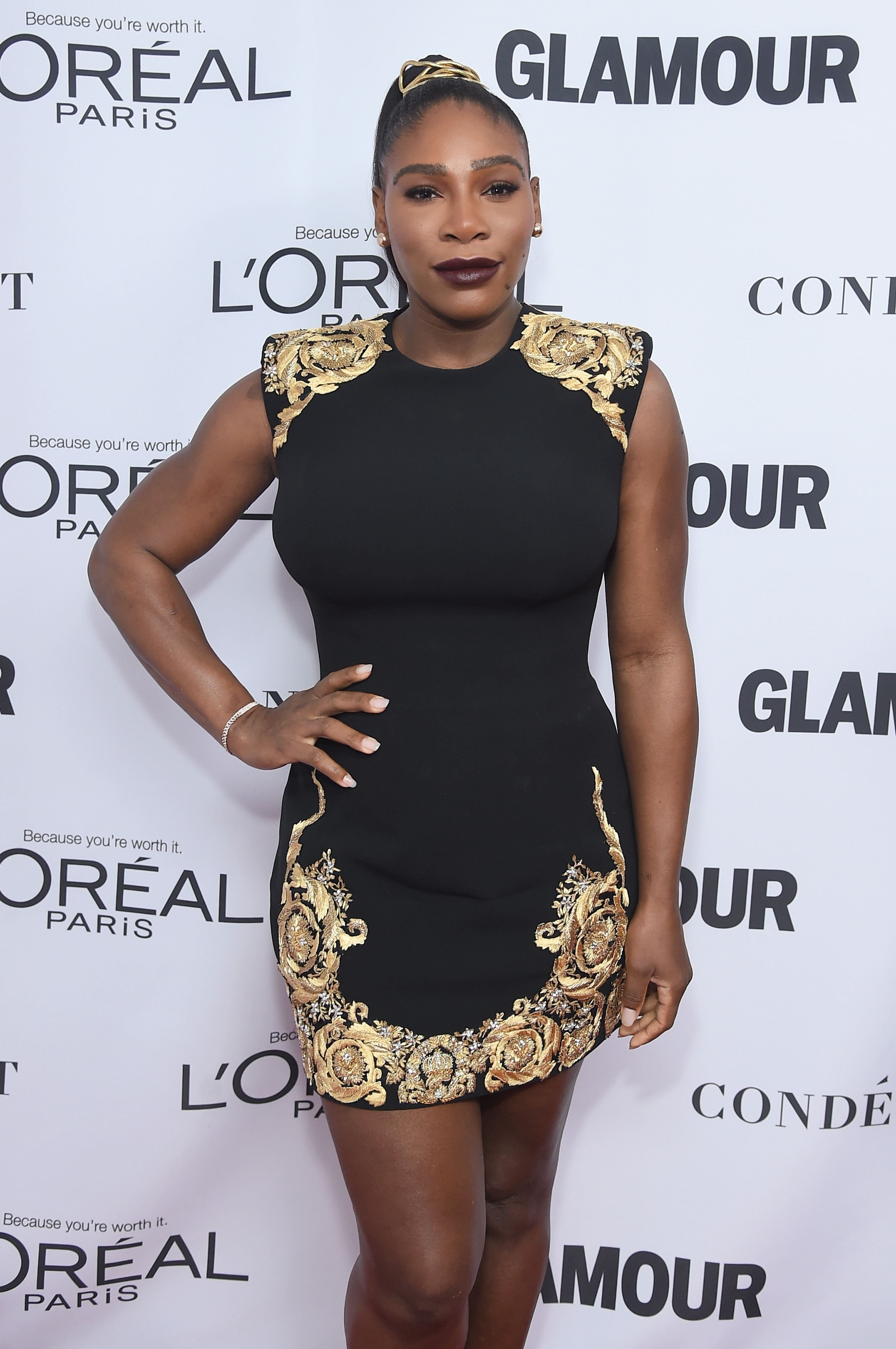 Serena Williams at the Glamour's Women of The Year Awards at Kings Theatre on November 13, 2017 in Brooklyn, New York | Photo: Getty Images