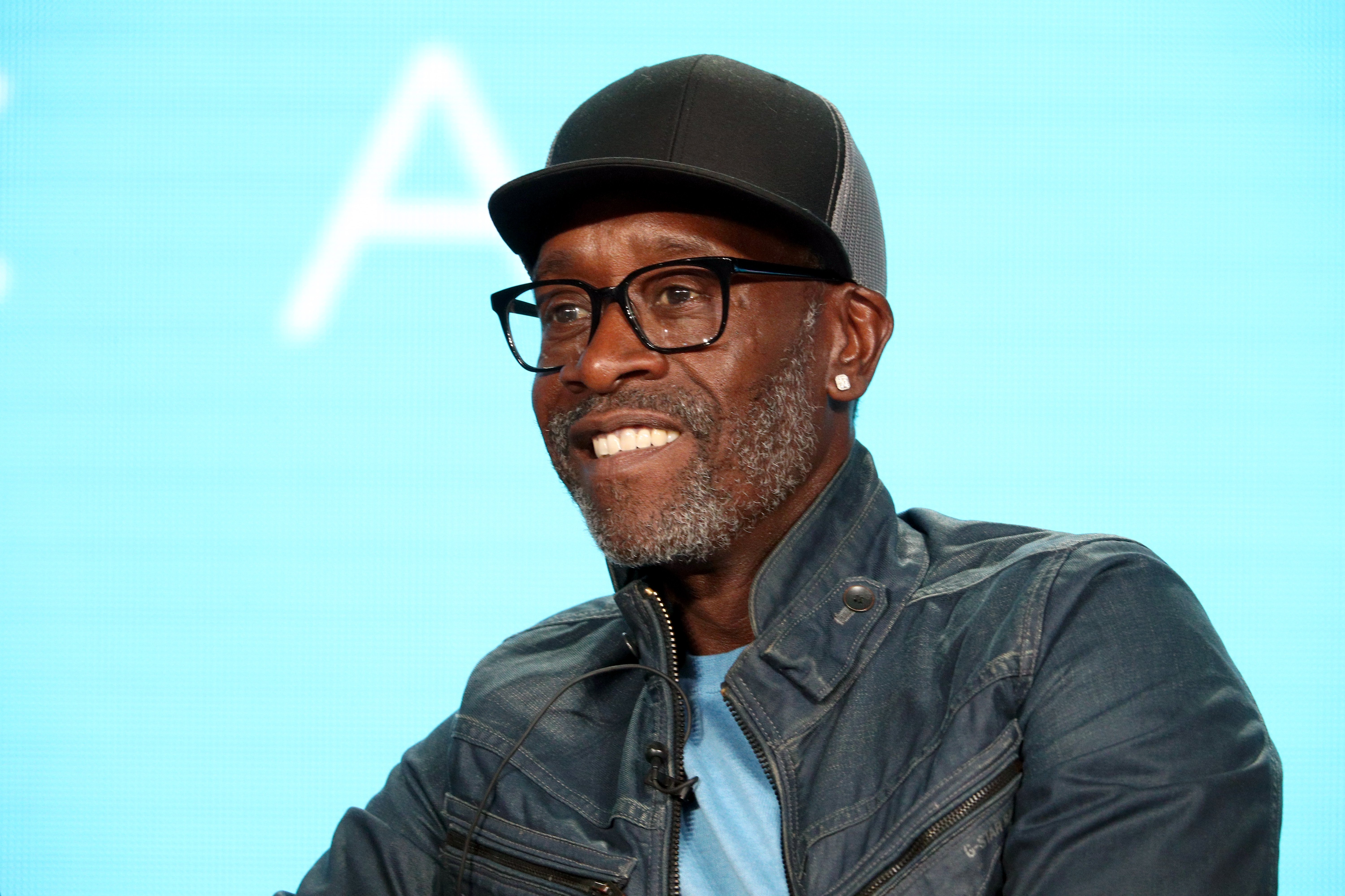 Don Cheadle during the 2019 Winter Television Critics Association Press Tour | Photo: Getty Images
