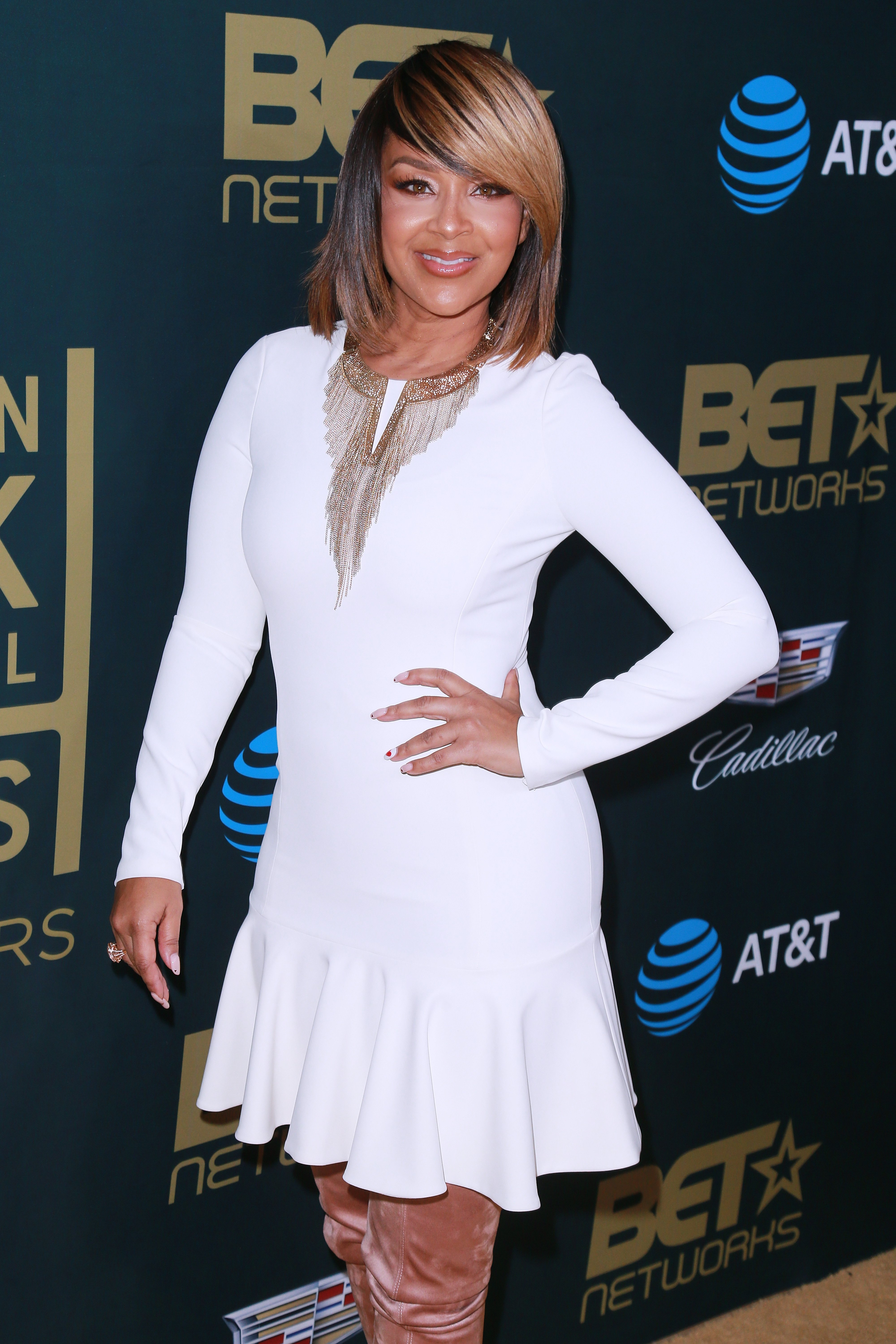 LisaRaye McCoy at the American Black Film Festival Honors Awards on Feb. 25, 2018 in California | Photo: Getty Images