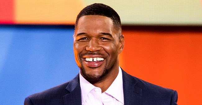 Michael Strahan from GMA Uses Meme to Remind Everyone to Practice Social Distancing—Just like His Teeth Are