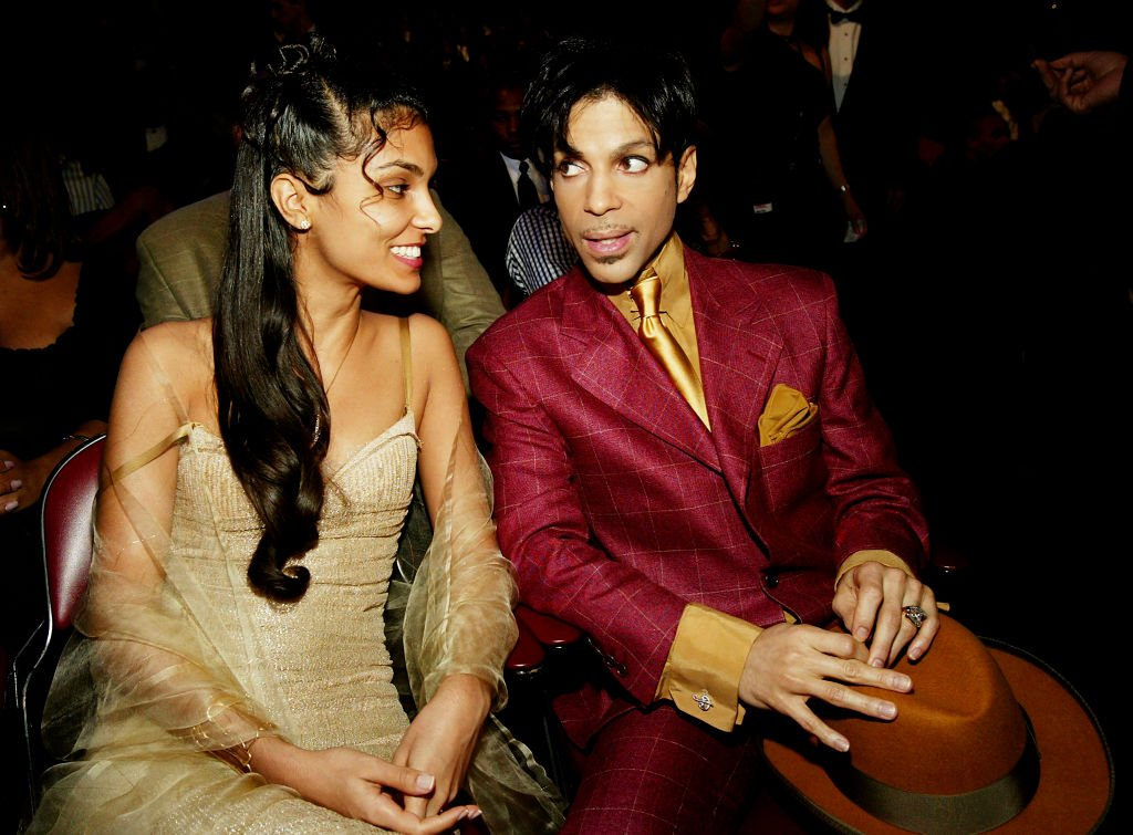 Late Prince and his wife Manuela Testolini at the 35th Annual NAACP Image Awards on March 6, 2004.   Photo: Getty Images
