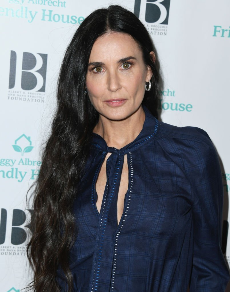 Demi Moore attends Friendly House 30th Annual Awards Luncheon at The Beverly Hilton Hotel. | Photo: Getty Images