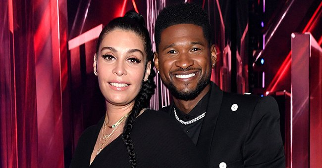 Usher Glows Hugging His Pregnant Girlfriend Jennifer as He Is Expecting His 4th Child