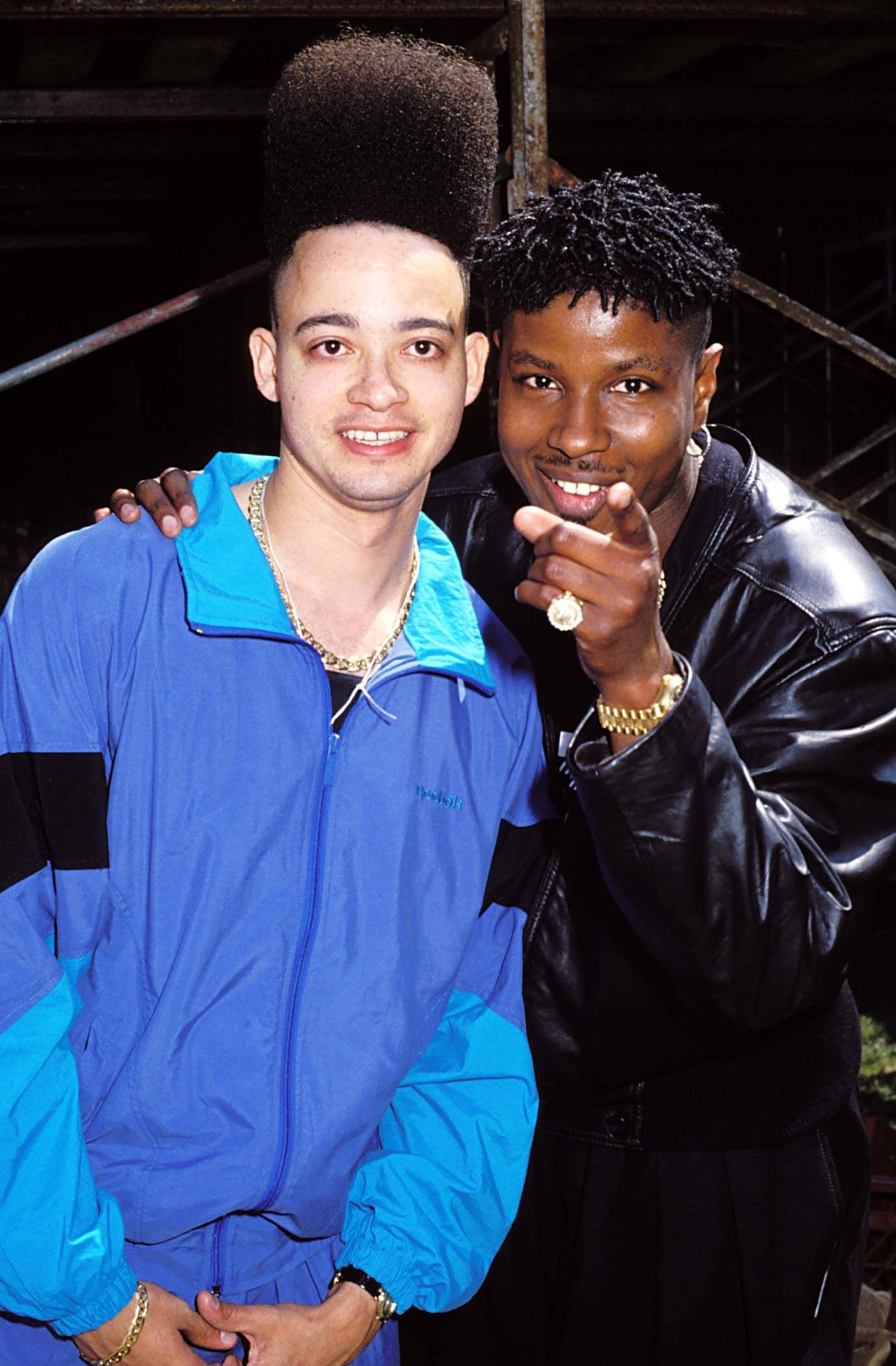 Kid N Play during Earth Day Rally and Concert in Central Park, 1990   Photo: Getty Images