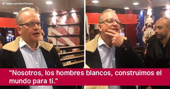 Hombre blanco explota en racismo, sexismo y xenofobia en pleno McDonald's en video viral