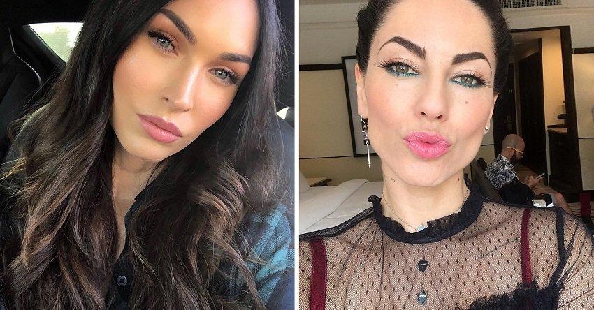 Megan Fox y Bárbara Mori. Fotos: Instagram/megagnfox + Instagram/delamori