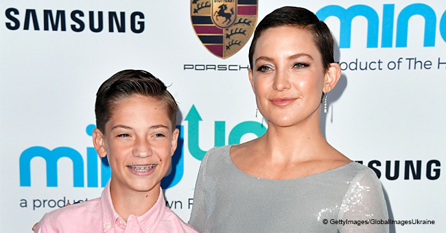 Kate Hudson Can't Wait till Her oldest Son Is Grown up Enough to Go to the Bar with Him