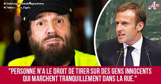 'Gilets jaunes': Francis Lalanne critique vivement Emmanuel Macron en direct (vidéo)