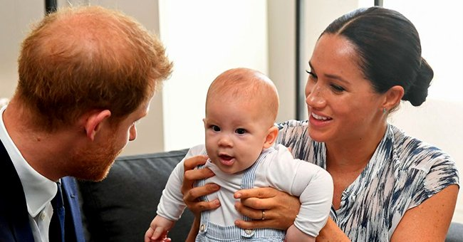 Elle: Meghan Markle Reveals Son Archie's Favorite Word during Her Interview with Oprah