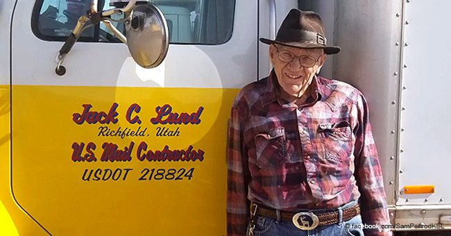 91-year-old mailman finally retires after driving a delivery truck for 69 years