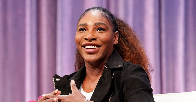 Serena Williams' Daughter Olympia Is All Smiles in High Heel Shoes & Matching Catsuits with Mom