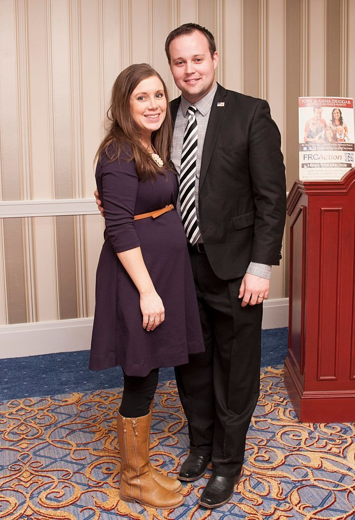 Anna Duggar and Josh Duggar pose during the 42nd annual Conservative Political Action Conference | Getty Images