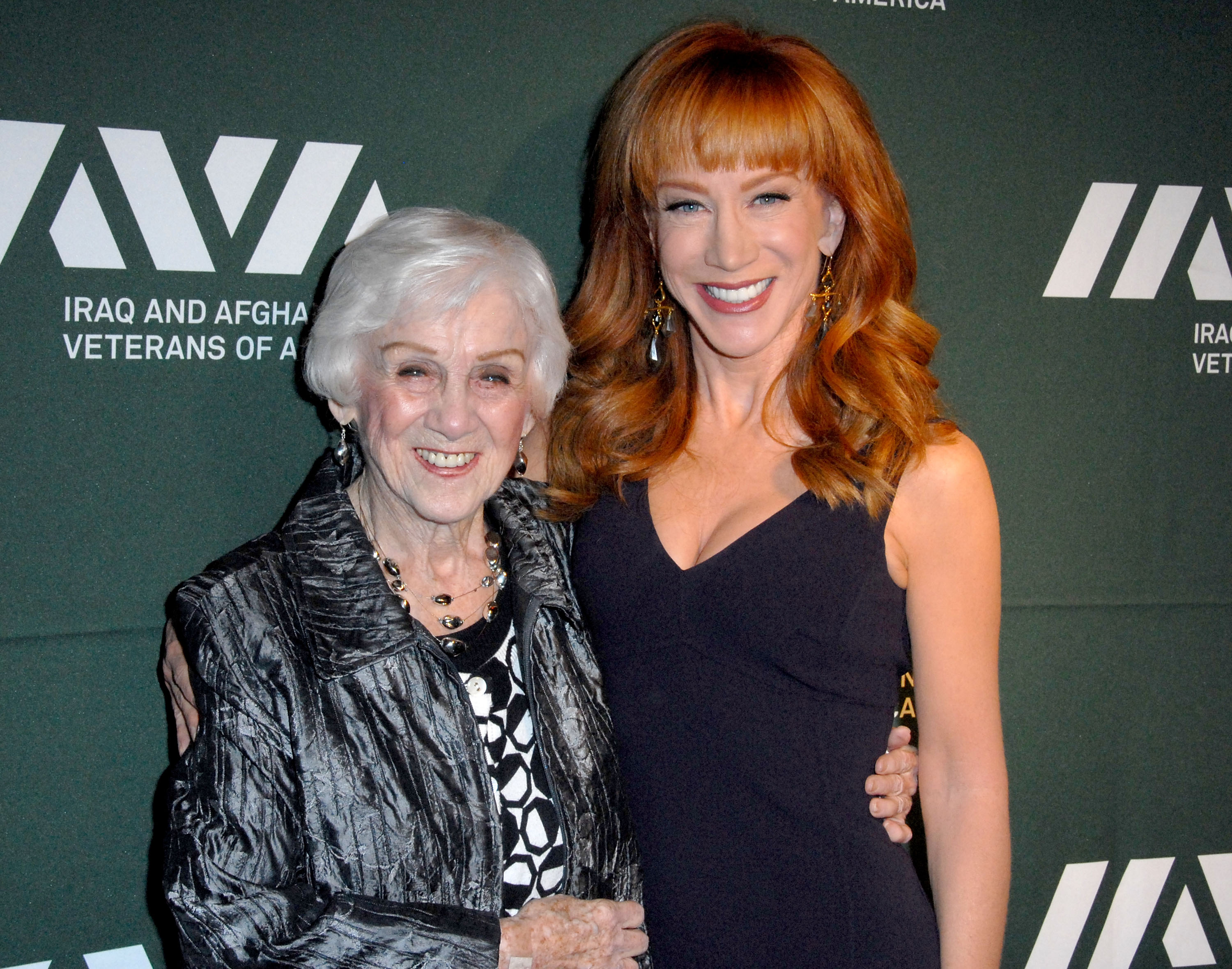 Kathy Griffin and mother Maggie Griffin attend the Iraq And Afghanistan Veterans Of America's 5th Annual Heroes Celebration on May 8, 2013. | Source: Getty Images