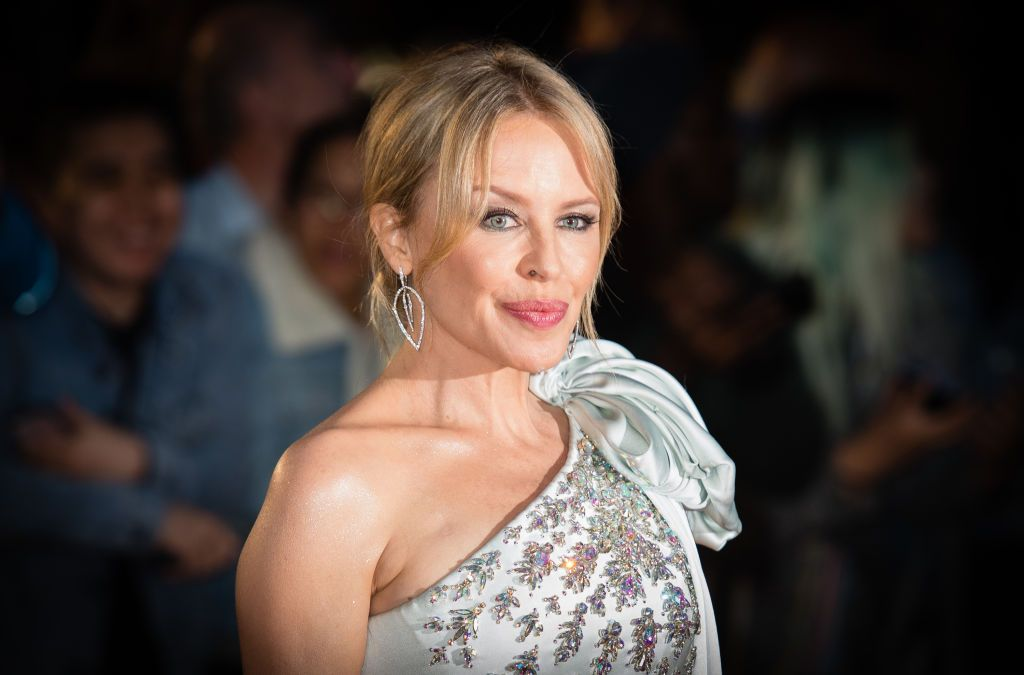 Kylie Minogue at the GQ Men Of The Year Awards 2019 at Tate Modern on September 03, 2019 in London, England | Photo: Getty Images