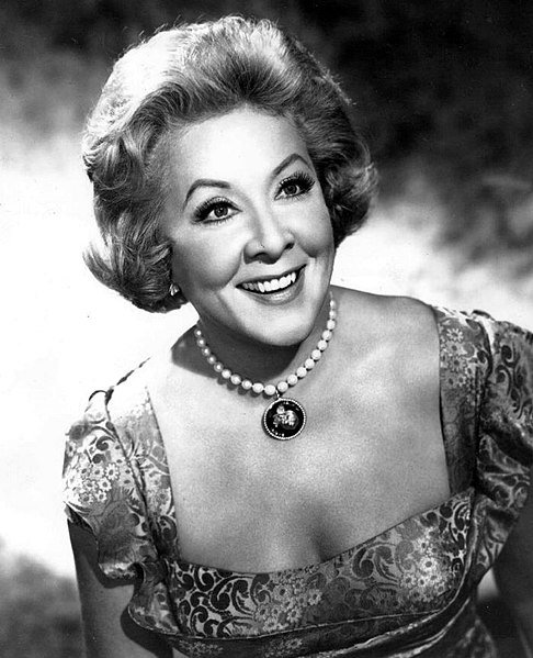 "Publicity photo of Vivian Vance from ""The Lucy Show"", marking her 13th year as Lucille Ball's sidekick. 
