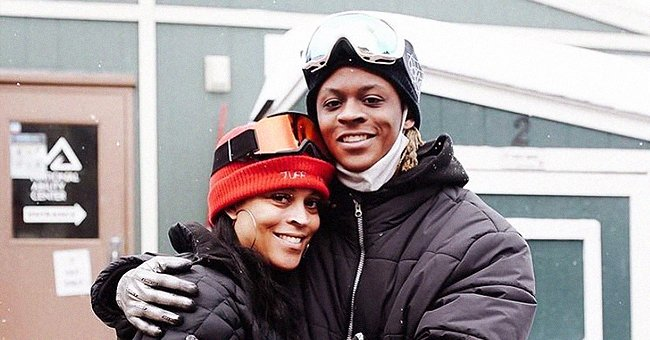 Shaunie O'Neal & Firstborn Son Myles Show Unparalleled Likeness Posing in Matching Winter Coats