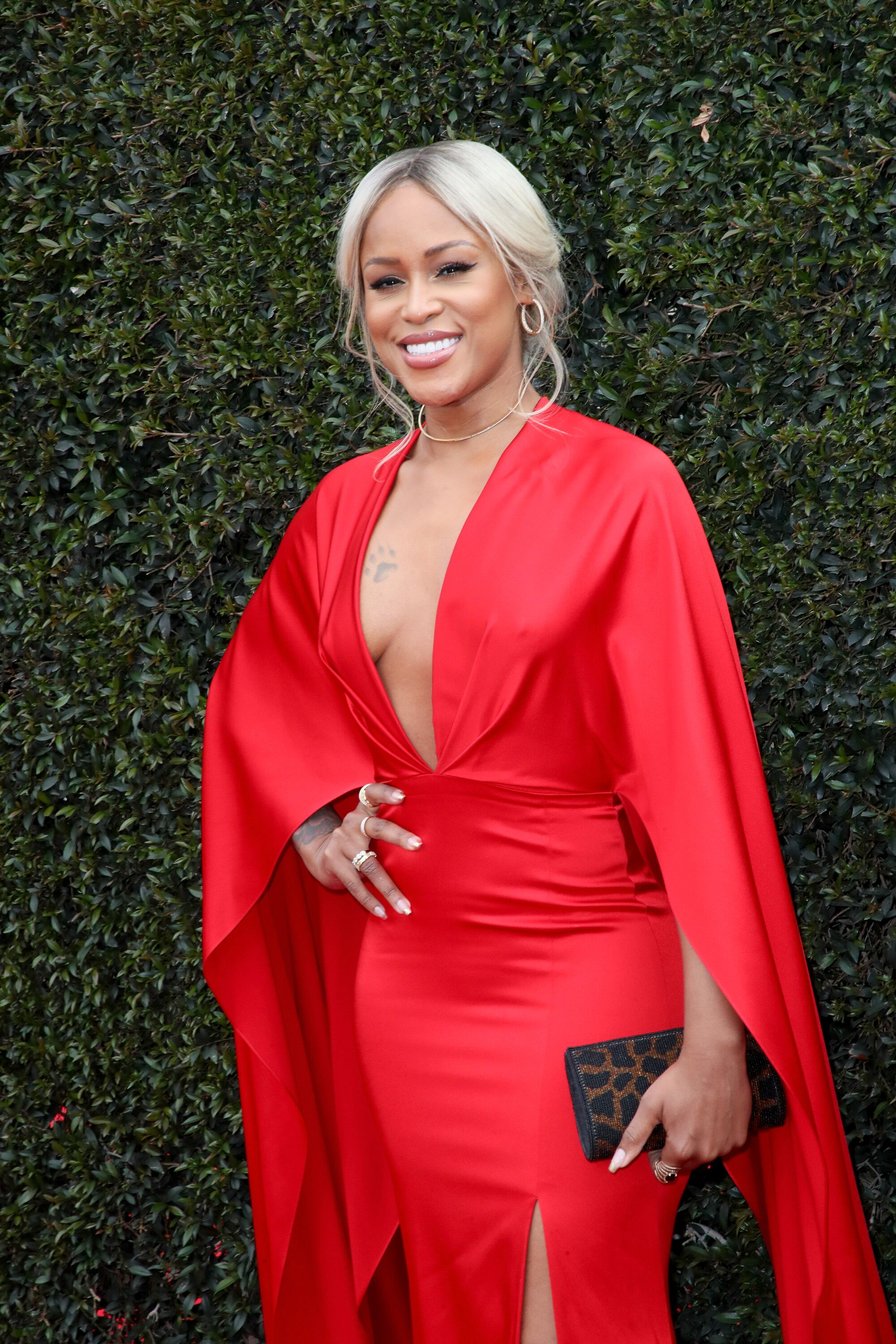 Eve at the red carpet of the 2018 Daytime Emmy Awards/ Source: Getty Images