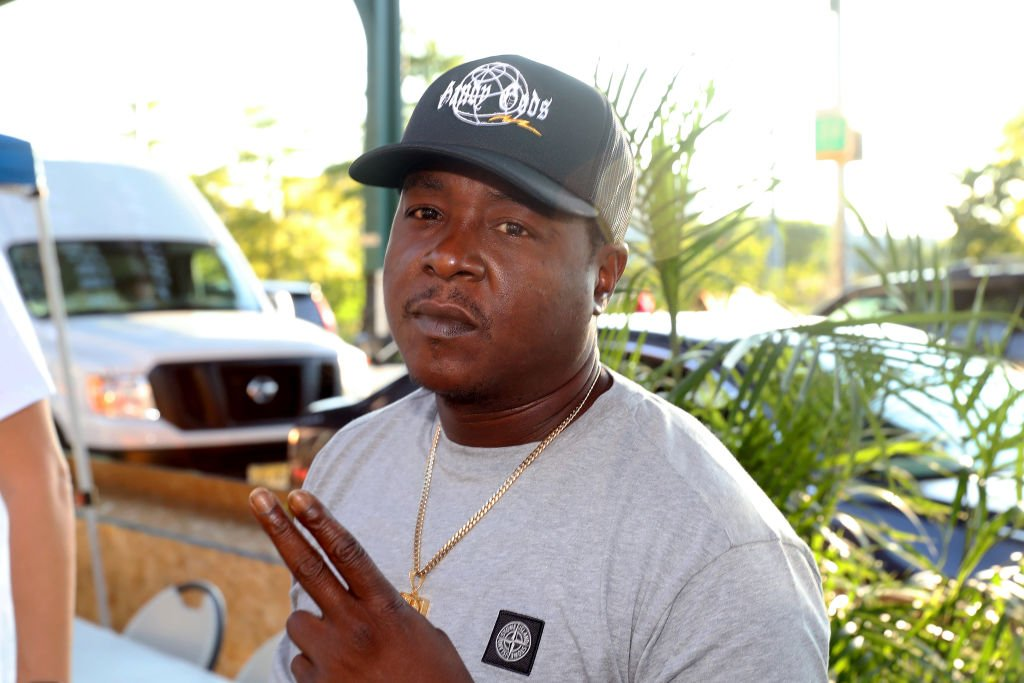 """Jadakiss attends Itsbizkit's """"Outside"""" video shoot  in New York City on September 11, 2020.   Photo: Getty Images"""