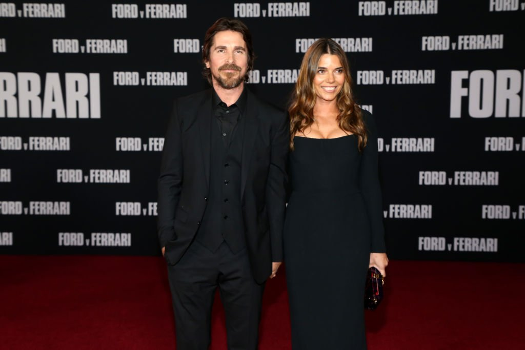 """Christian Bale and Sibi Blažić at the premiere of FOX's """"Ford V Ferrari"""" on November 04, 2019 
