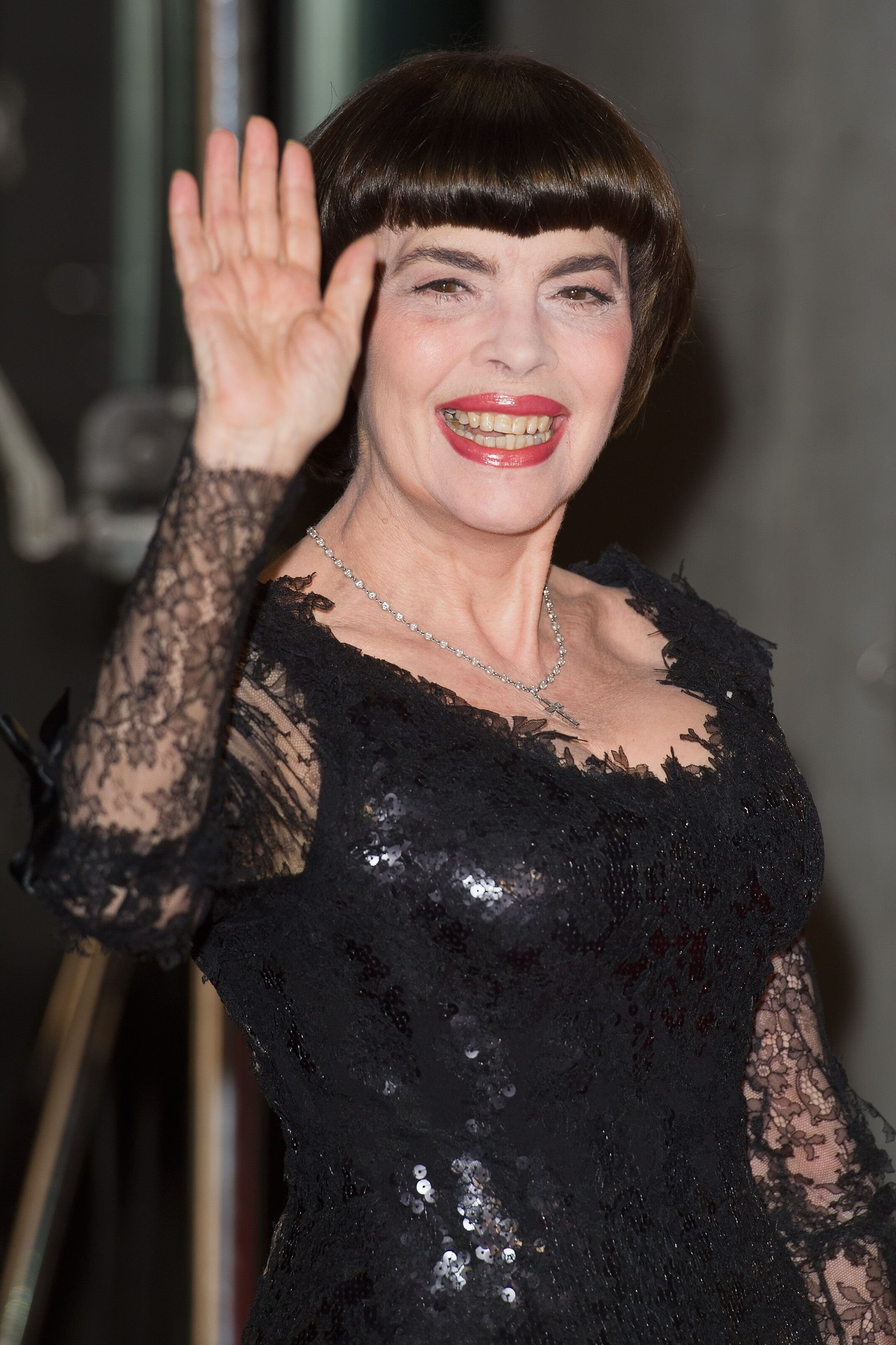 Mireille Mathieu assiste à l'émission'Das grosse Fest der Besten' au Velodrom à Berlin, Allemagne. | Photo : GettyImage