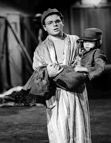 """Gary Burghoff as Radar from the television program """"M*A*S*H.""""   Source: Wikimedia Commons"""