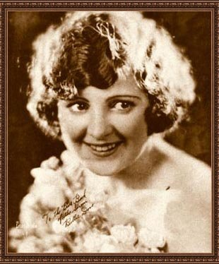 """Silent era actress Billie Dove from """"The Blue Book of the Screen"""" 