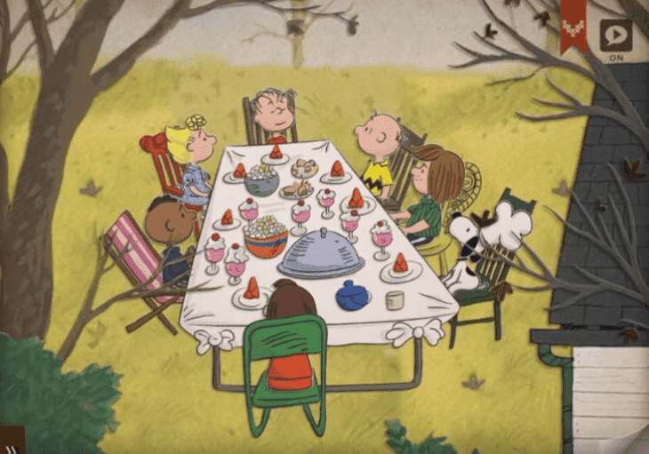 "Source: ""A Charlie Brown Thanksgiving"""