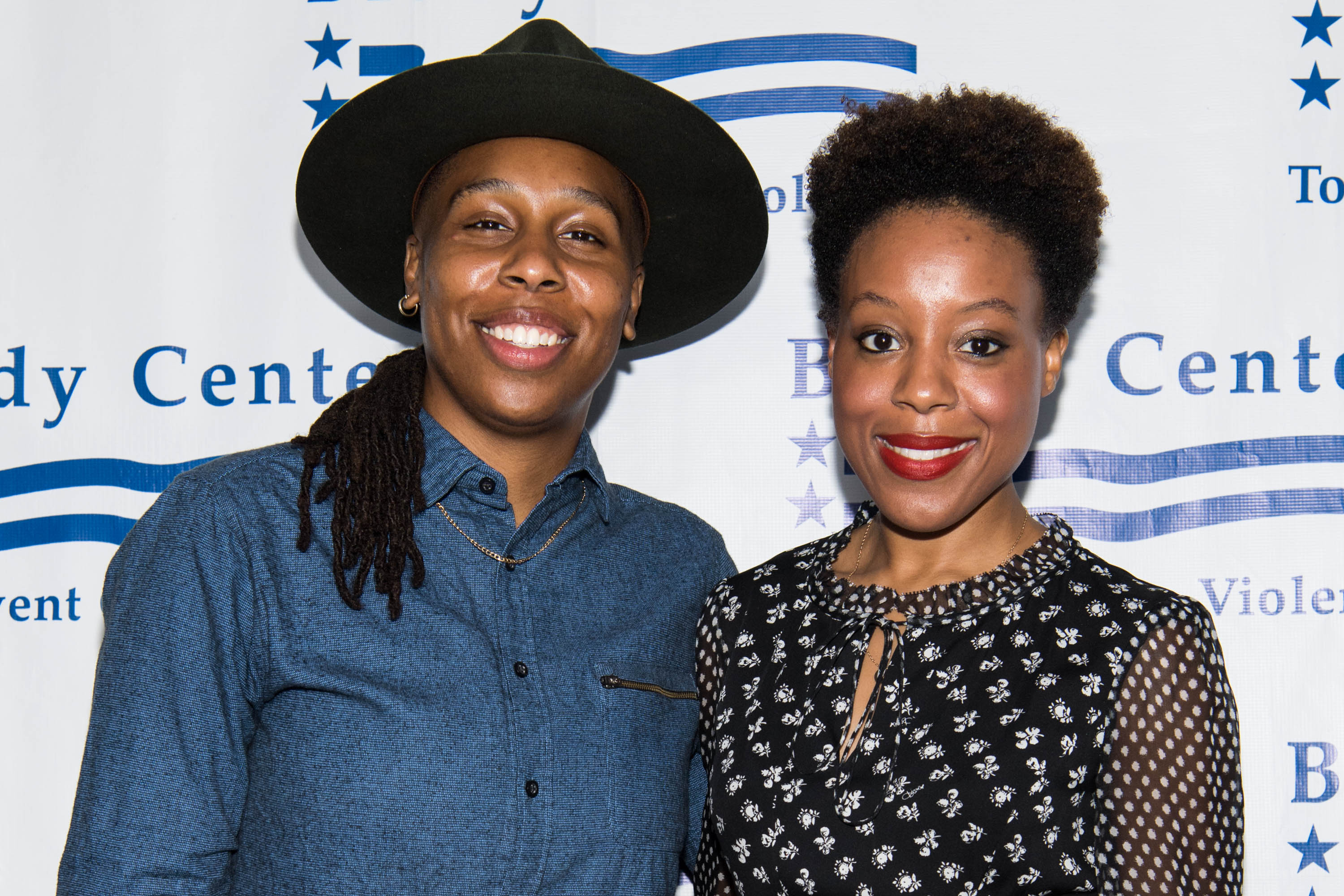 Lena Waithe and Alana Mayo at the Brady Center's Bear Awards Gala on June 7, 2017 in California | Photo: Getty Images