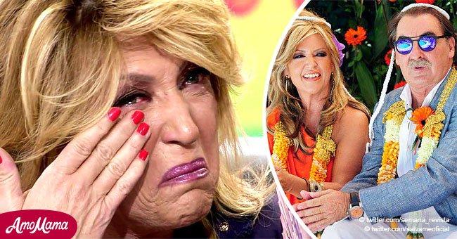 Lydia Lozano preocupada por la salud de su esposo tras romper en llanto en televisión en vivo